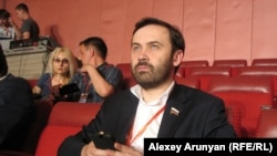 Депутат Госдумы России Илья Пономарев