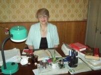 Mzia Nauchashvili has long overseen Gori's Stalin collection (RFE/RL)