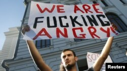 Акция протеста студентов