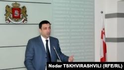 Председатель Контрольной палаты Леван Бежашвили