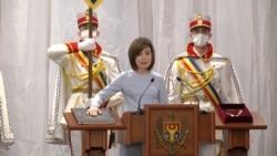 Maia Sandu Takes Oath Of Office As New Moldovan President