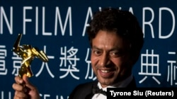 FILE: Indian actor Irrfan Khan