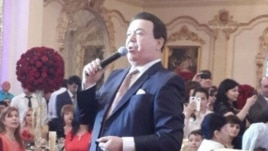 Uzbekistan - Russian singer Iosif Kobzon is singing in the wedding party of Uzbek criminal authority's granddaughter, 27 April 2014.