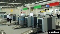 Тошкент аэропорти.