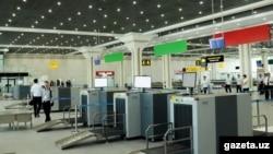 Новый терминал в международном аэропорту Ташкент.