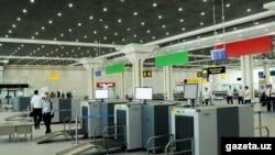 Новый терминал международного аэропорта «Ташкент».