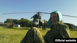Украинская летчица Надежда Савченко.
