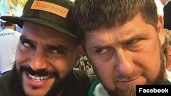 Тимати и глава Чечни Рамзан Кадыров