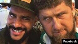 Рэпер Тимати и глава Чечни Рамзан Кадыров