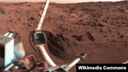 Mars planetasy.