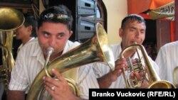 Guča - jubilarni 50. dragačevski sabor trubača