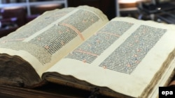 Un exemplar al Bibliei de la Kassel...