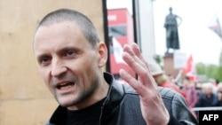 Russian opposition activist Sergei Udaltsov (file photo)