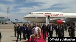 Премьер-министр Индии Нарендра Моди 23 июня прибыл в Ташкент.