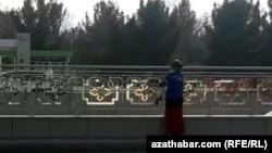 Дворник, Ашхабад