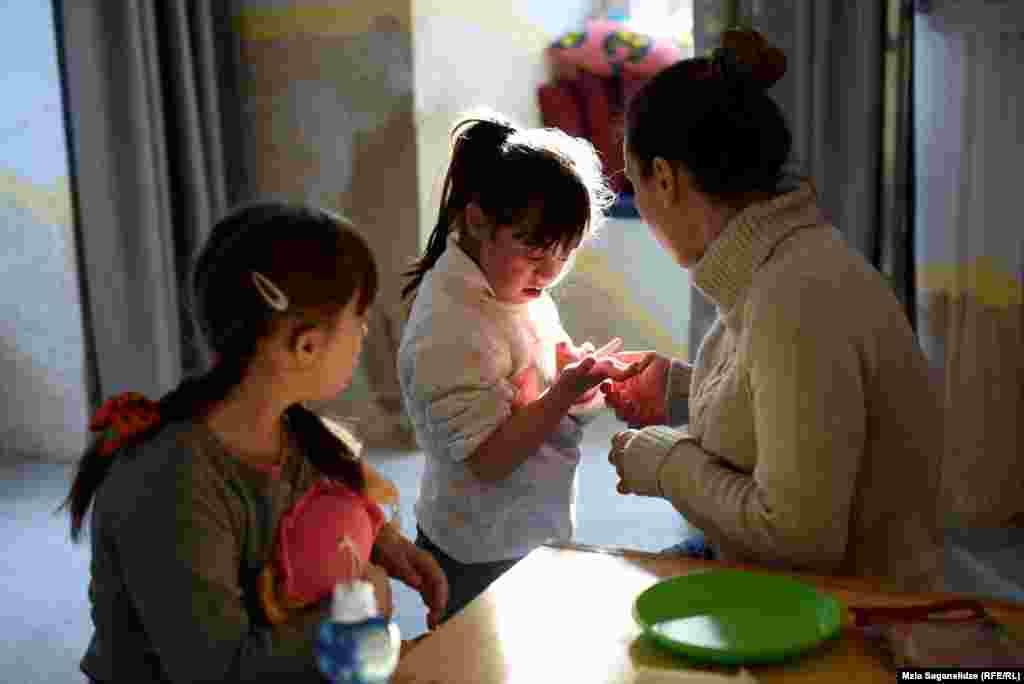 Georgia -- Down syndrome children. Tbilisi, 21Mar2019