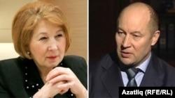 Зилә Вәлиева һәм Әсгать Сәфәров
