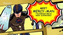 Mercy-Man: Tajik Telepathic Superhero Teaches Compassion