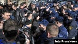 პატიმართა წამების წინააღმდეგ გამართული საპროტესტო აქციაზე