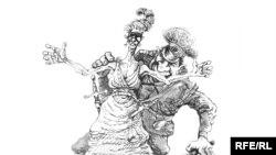 Оьрсийчоь -- карикатура, Златковский Михаил, 13Охан2010