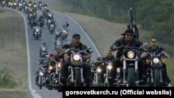 """Руската мотоциклистичка група """"Ноќни волци"""""""