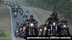 «Ночные волки» проводят мотопробег в Крыму. Архивное фото