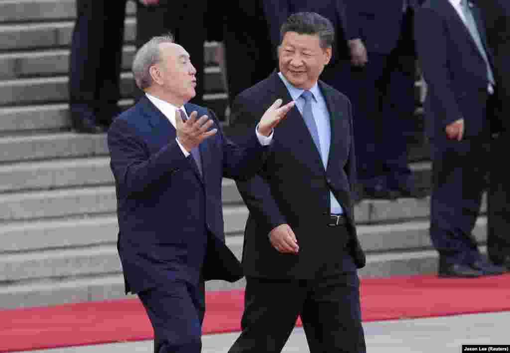 По словам Назарбаева, с 2012 года главы двух стран провели 18 встреч и подписали 127 соглашений на сумму 67 миллиардов долларов.