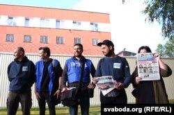 Журналісты, якія правялі трое сутак у ізалятары на Акрэсьціна