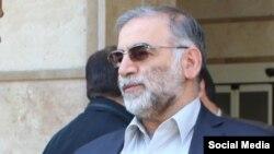 محسن فخریزاده مهابادی، چهره ارشد در برنامه هستهای ایران که روز جمعه کشته شد.