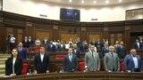 «Իմ քայլը» խմբակցությունը ԱԺ նիստի ժամանակ, արխիվ