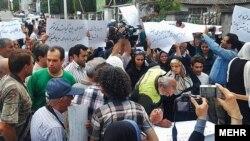تجمع فعالان محیط زیست در اعتراض به تخریب باغ گیاهشناسی نوشهر