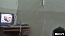 Кадр с видеозаписей бин Ладена, найденных в том же доме ранее