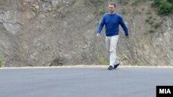 Претседателот на ВМРО-ДПМНЕ, Никола Груевски
