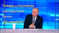 Putin suallara cavab verir