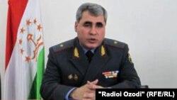 Шариф Назаров, сардори Раёсати умури дохилии вилояти Суғд