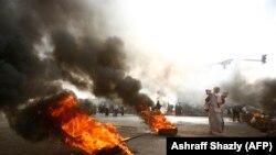 آرشیف/ تصویر از مظاهره در سودان Source: Ashraff Shazly (AFP)