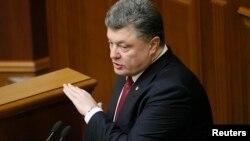 Ukrayna prezidenti Petro Poroshenko