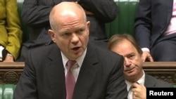 Sekretari i Jashtëm britanik, William Hague