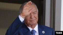 Özbegistanyň owalky prezidenti merhum Islam Karimow.