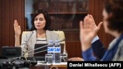 Новый премьер-министр Молдовы Майя Санду