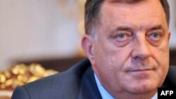 Milorad Dodik, president of Bosnia-Herzegovina's predominantly Serb entity Republika Srpska