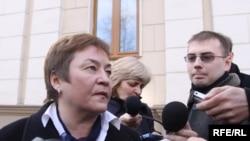 Жана Літвіна распавядае пра вынікі суду