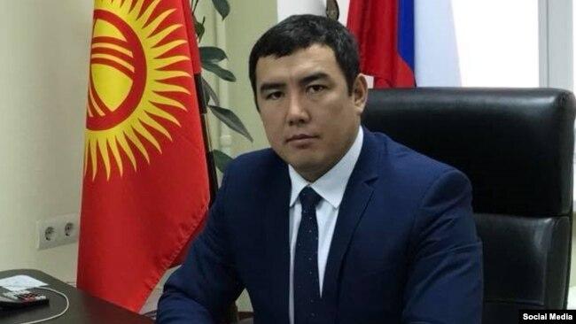 Предприниматель Каныбек Акаев.