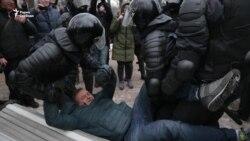 Сенатская площадь: задержаны защитники Конституции