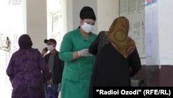 В больнице в Душанбе