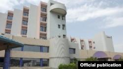 Отель Radisson Blu в столице Мали Бамако.
