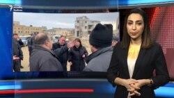 Bakıda etiraz: Polis vətəndaşı tutur, icra evini sökür