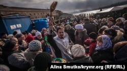 Крещение в Севастополе. Автор – Алина Смутко