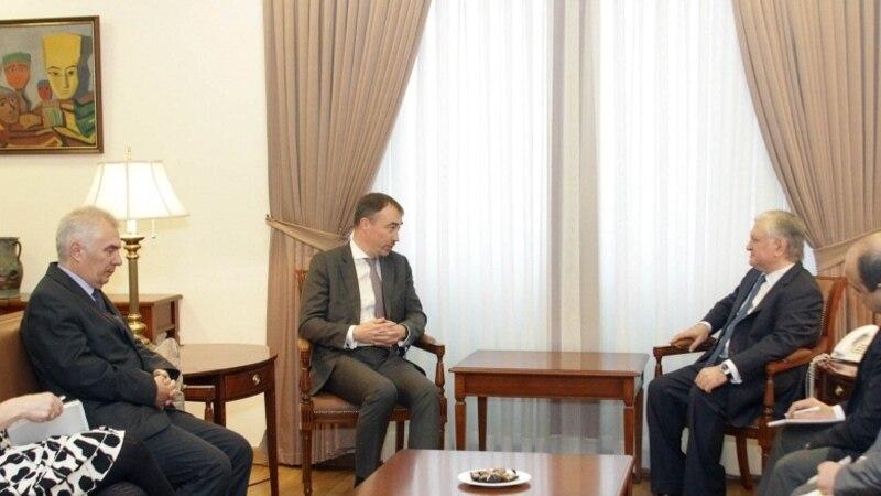 Հայաստանի արտգործնախարարն ընդունել է Հարավային Կովկասում և Վրաստանի ճգնաժամի հարցերով ԵՄ հատուկ ներկայացուցչին