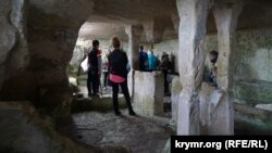 Скальний храм Тепе-Кермена